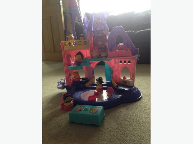 fisher price disney princess palace
