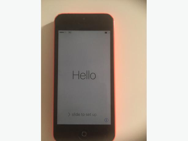 iphone 5c 16gb pink on vodafone