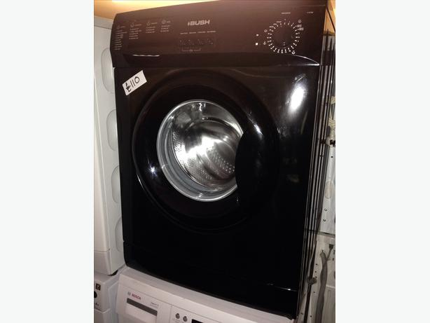 BUSH 6KG WASHING MACHINE BLACK0