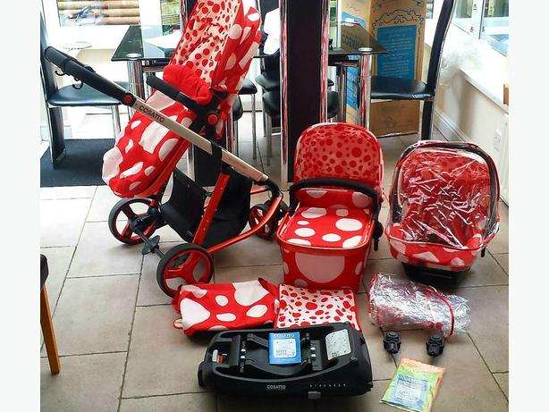 COSATTO 3in1 TRAVEL SYSTEM WITH ISOFIX BASE