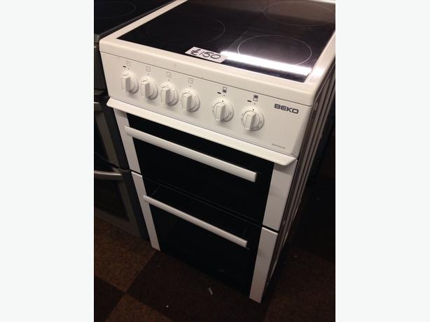 BEKO DOUBLE OVEN FAN ASSISTED ELECTRIC COOKER0