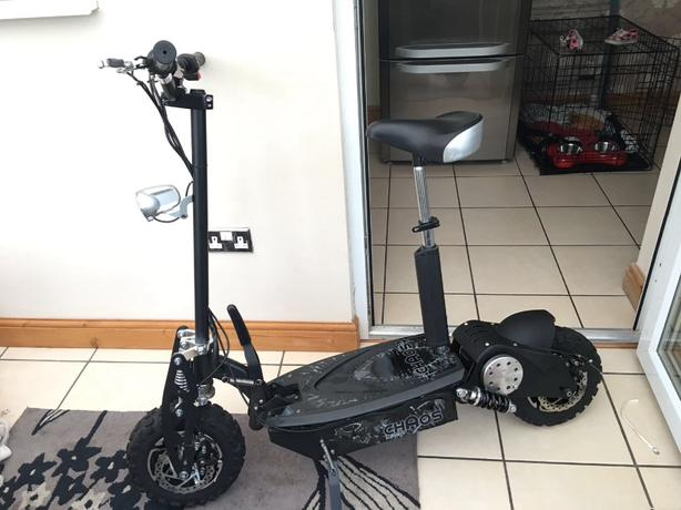 chaos sport 1000w electric scooter