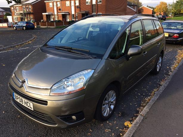 ONO 2008 citroen c4 grand picasso 1.6hdi vtr+ may px or swap