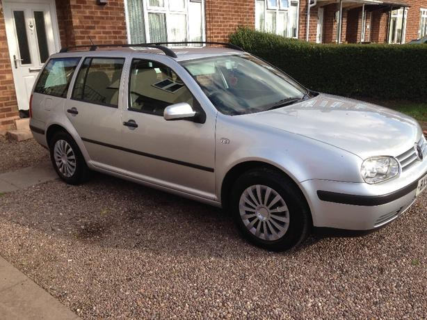 vw golf estate,1.6petrol,full mot