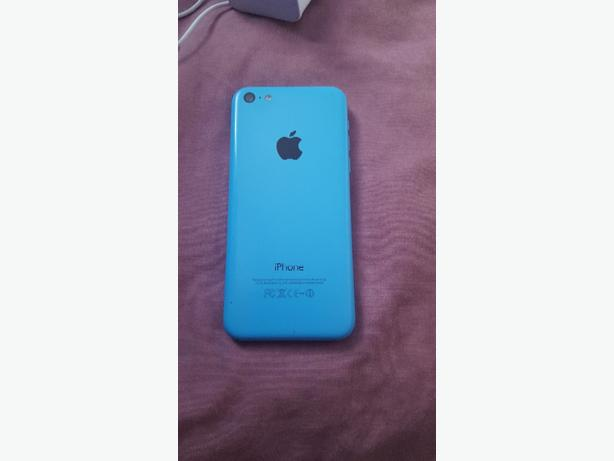 Iphone 5c 16GB In Blue Good Cond On All Networks!