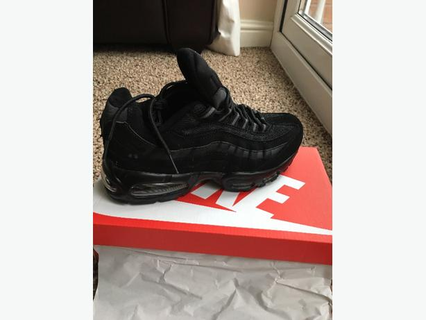 nike air max 95s black new box only size 8 left