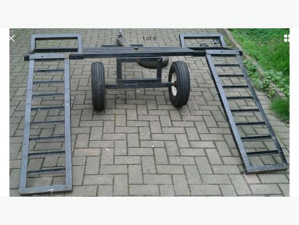 Car Towing Trailer, Dolly, Transporter