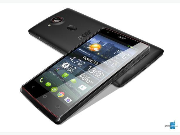ACER LIQUID E3 -13MP - BLUETOOTH - 3G - GPS - 4GB - BLACK ( THREE NETWORK )
