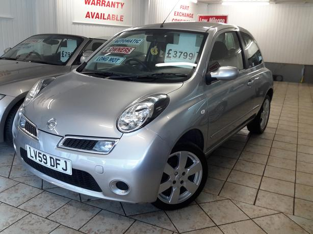 MICRA 1.2 AUTOMATIC ACENTA MINT CONDITION LOW MILEAGE