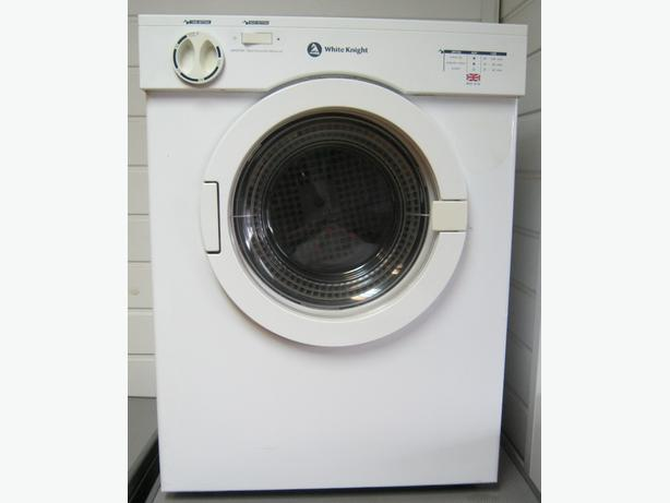 White Knight 3kg Table Top Vented Tumble Dryer, 6 Month Warranty