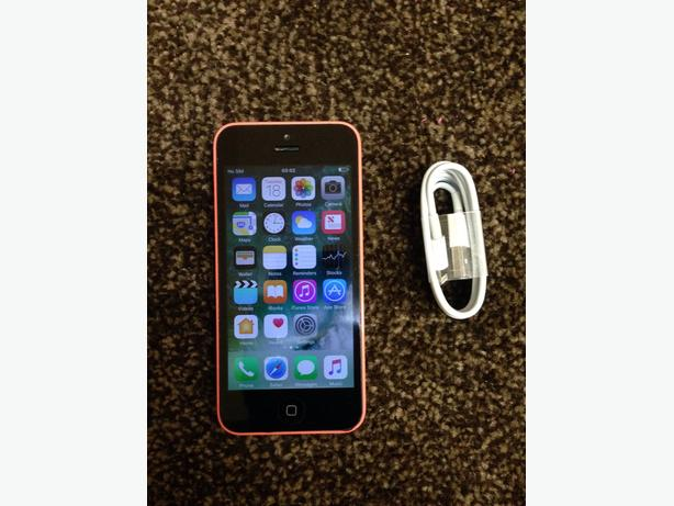 Pink iPhone 5c Factory Unlocked to all Networks Good Condition Can Deliver