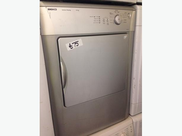 6KG BEKO SILVER VENTED DRYER