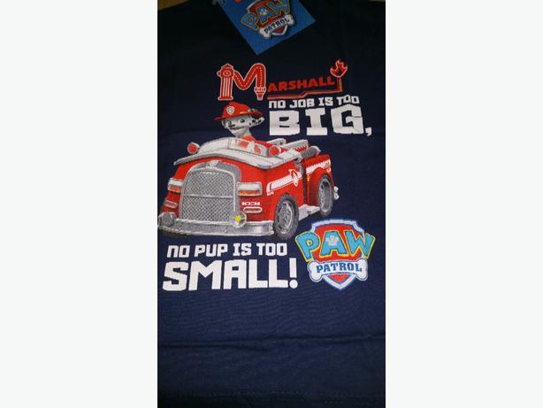 paw patrol tshirts