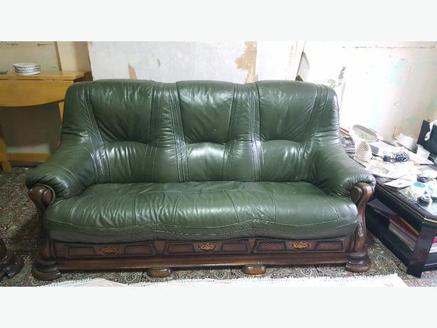 Green Sofa £90 ONO