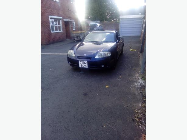 Hyundai coupe 1.6 12 months mot low mileage