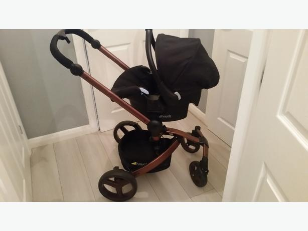 hauck twister travel system/pushchair