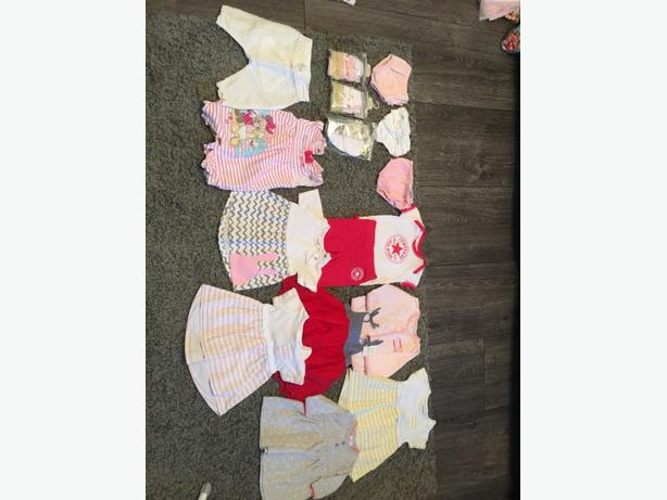 mixed baby girls clothes first size