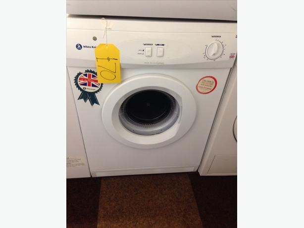 WHITE KNIGHT 6KG VENTED DRYER