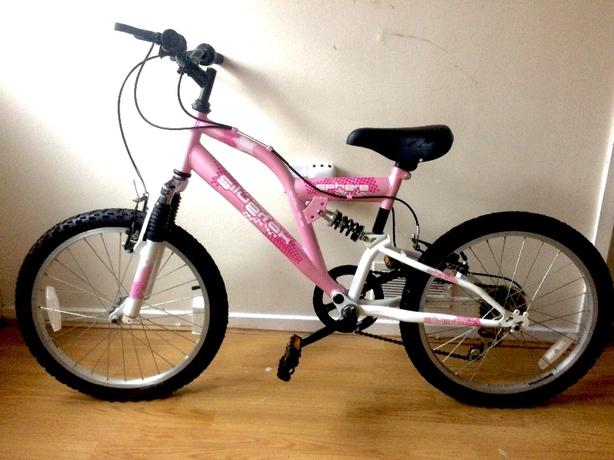 Girls SilverFox Bike