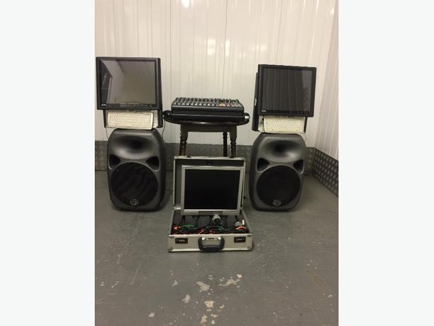 complete Karaoke & Disco Setup