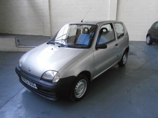 Fiat Seicento 1.1L, S 3 Door Hatchback