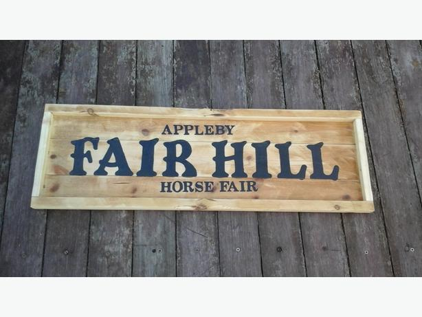 Appleby horse fair sign