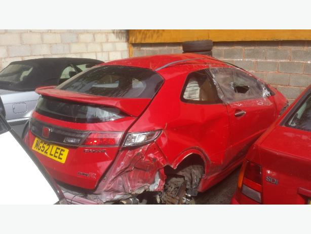 Honda civic type r 2007 fn2 hpi clear damaged repairs spares