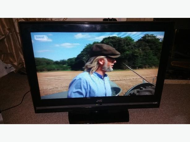 jvc 32 inch lcd tv built in freeview