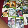 20gb Xbox 360,2 pads & 18 games