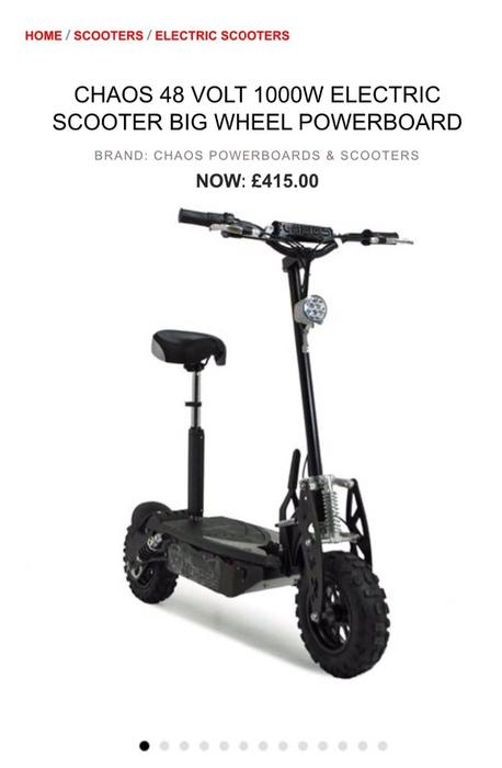 1000w electric scooter coseley wolverhampton. Black Bedroom Furniture Sets. Home Design Ideas