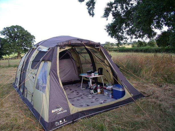 Vango Infinity 600 Airbeam Job Lots Kitchen Stove Bed L K