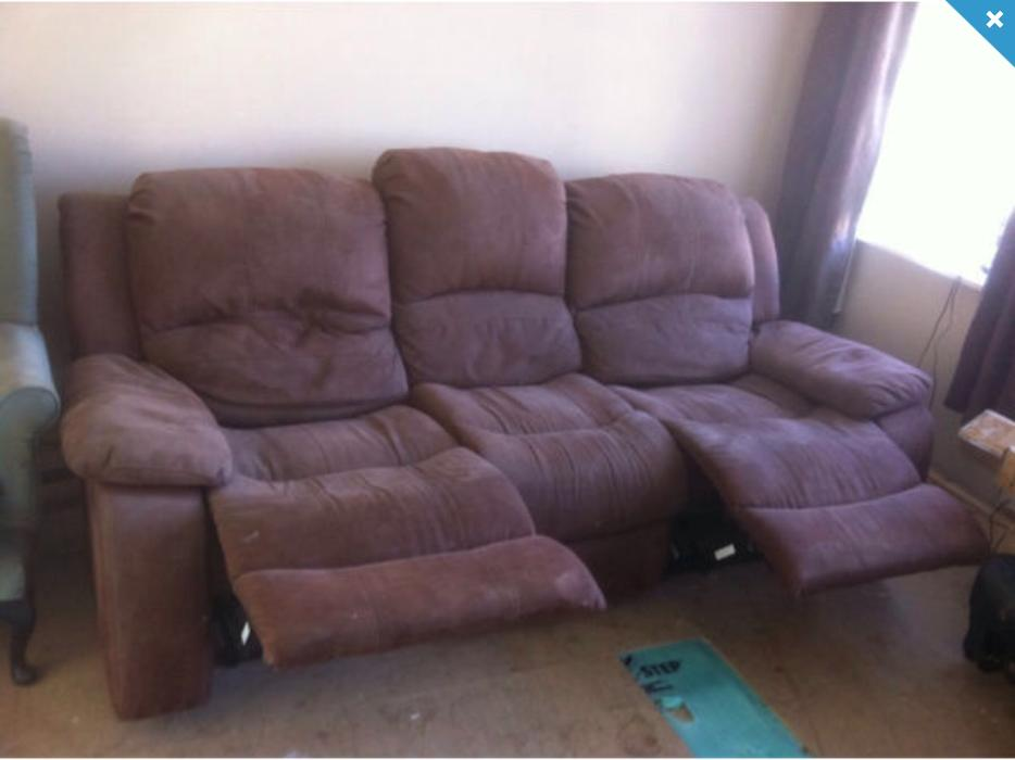 Recliner 3x2 Seater Cheap Harvey's Lazy Boys Sofa Set Grab