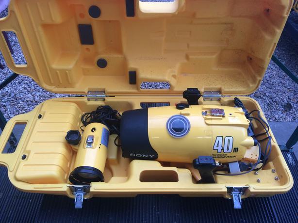  Log In needed £40 · bargain sony ccd video 8 underwater marine pack  camera 40 m depth