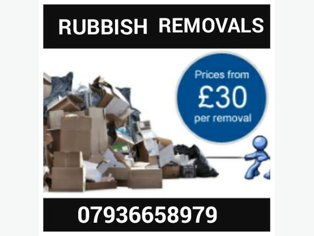 **ALL HOUSEHOLD & GARDEN WASTE & GENERAL RUBBISH REMOVED TODAY **
