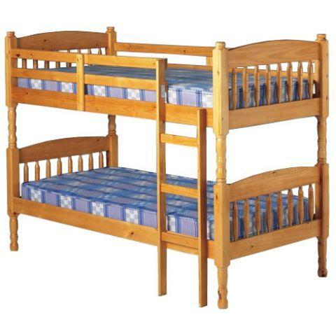 Pine Wooden Bunk Beds Wednesbury Dudley