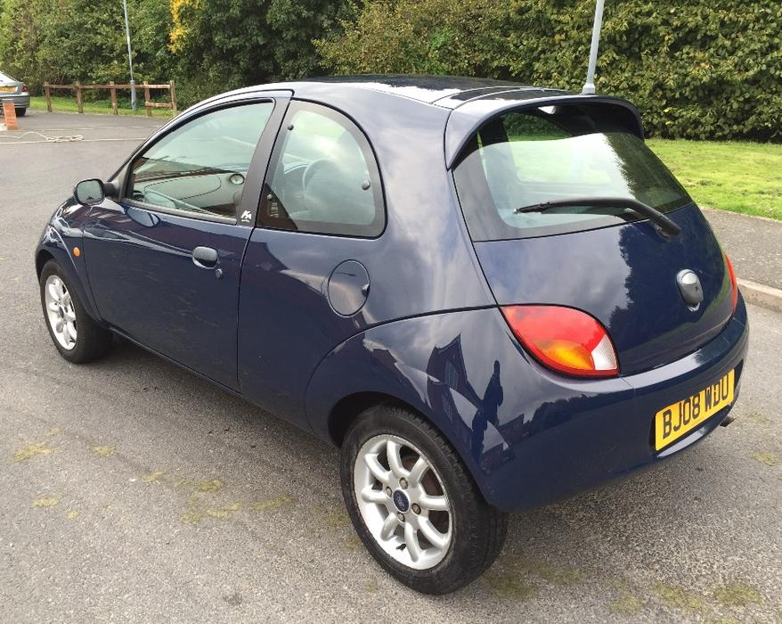 2008 08 ford ka climate 1 3 petrol car low mileage. Black Bedroom Furniture Sets. Home Design Ideas