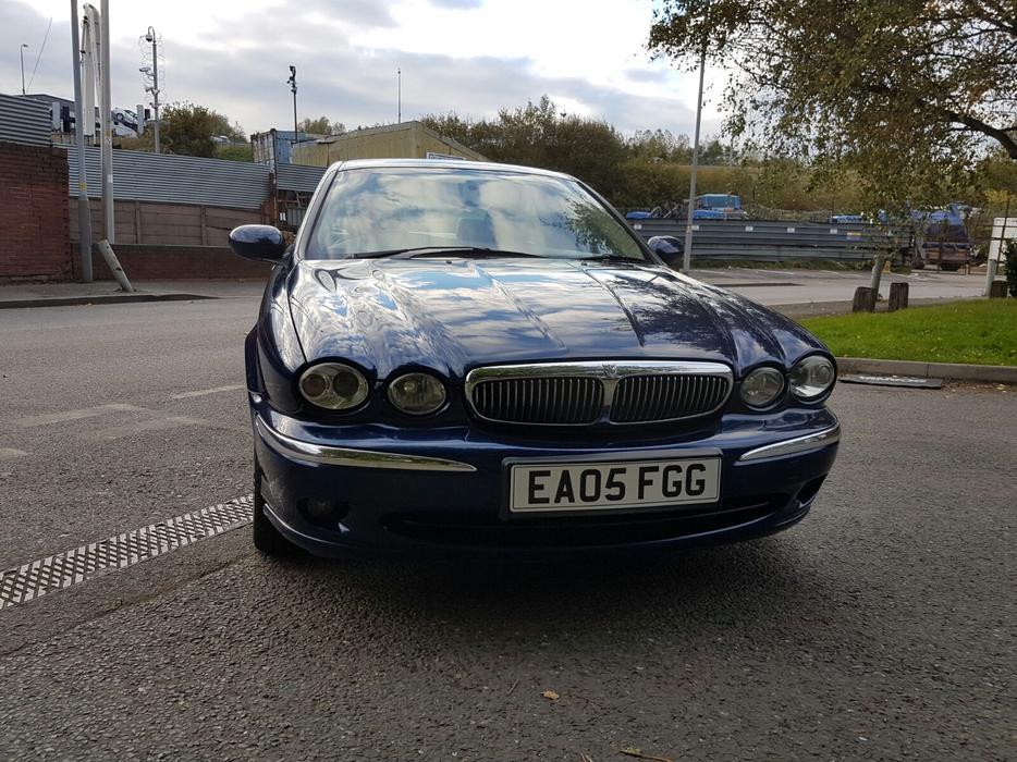 jaguar x type diesel 2005 plate vgc fsh drives superb  u00a3995