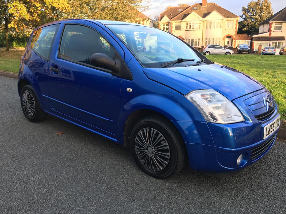 citroen c2 1 4 diesel 2006 55 plate hdi design blue manual wolverhampton sandwell mobile. Black Bedroom Furniture Sets. Home Design Ideas