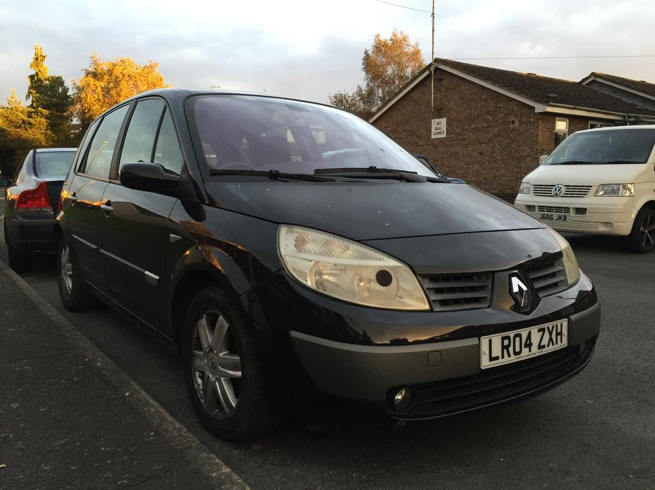 renault megane scenic 1 5 dci 2004 30 year tax other dudley. Black Bedroom Furniture Sets. Home Design Ideas