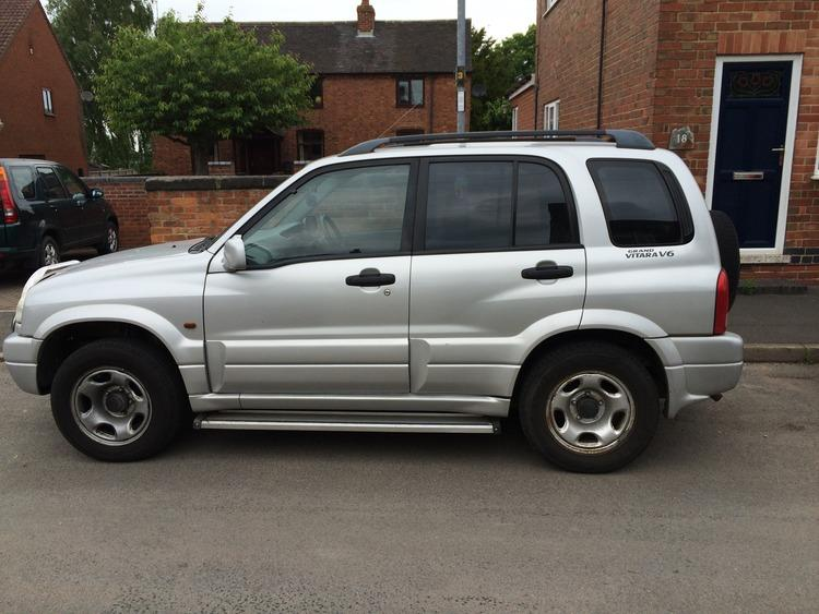 2001 suzuki grand vitara 2 5 v6 4x4 5 door other sandwell mobile. Black Bedroom Furniture Sets. Home Design Ideas