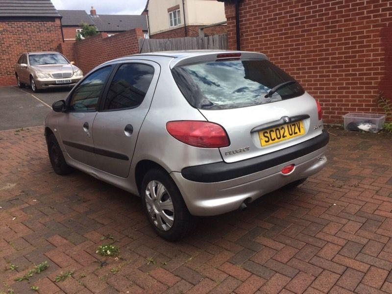 2002 peugeot 206 1 4 hdi turbo diesel 5 door full logbook low mileage sandwell wolverhampton. Black Bedroom Furniture Sets. Home Design Ideas