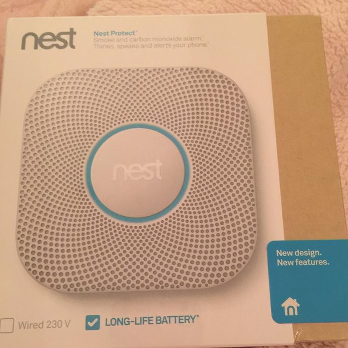Nest 2nd Generation Smoke And Carbon Monoxide Other Black