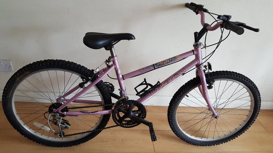 10 Speed Bike Rims : Raleigh girls ladies mountain bike speed inch