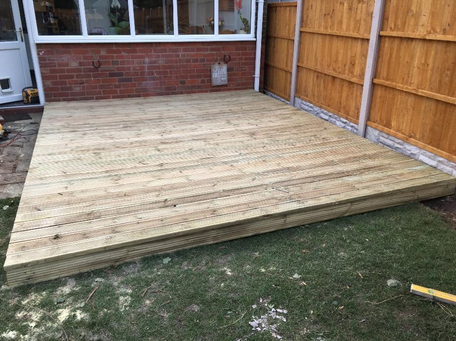 Decking supply and fit special offer sandwell walsall for Decking special offers