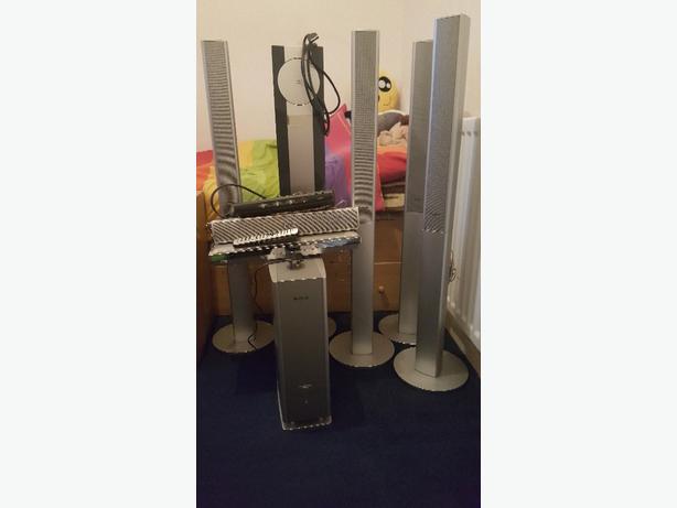 Panasonic home cinema system.