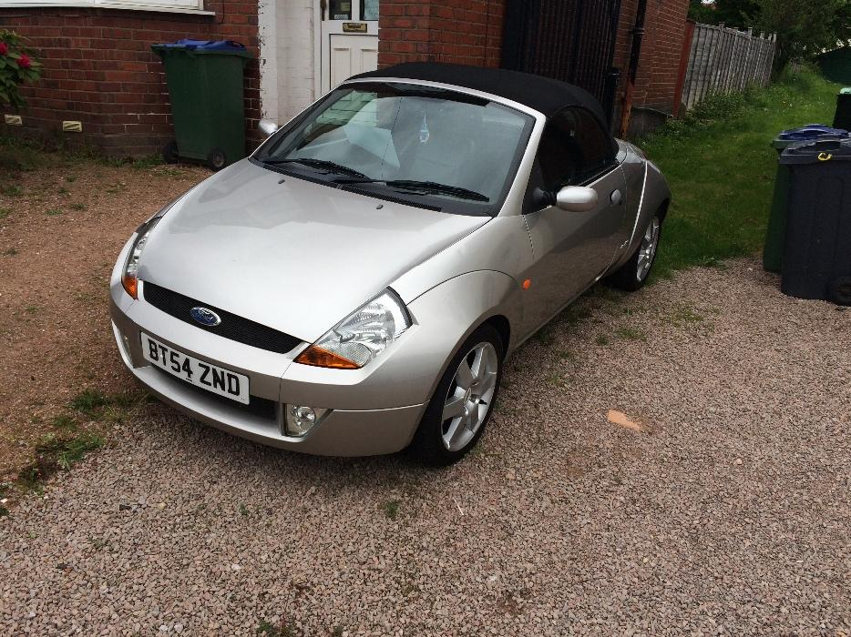 ford streetka convertable wolverhampton dudley. Black Bedroom Furniture Sets. Home Design Ideas