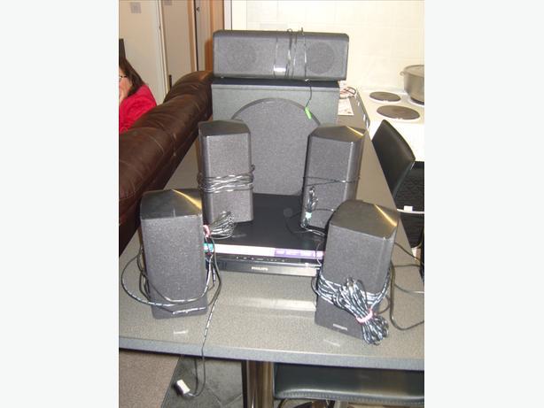 Phillips surround sound cinema system