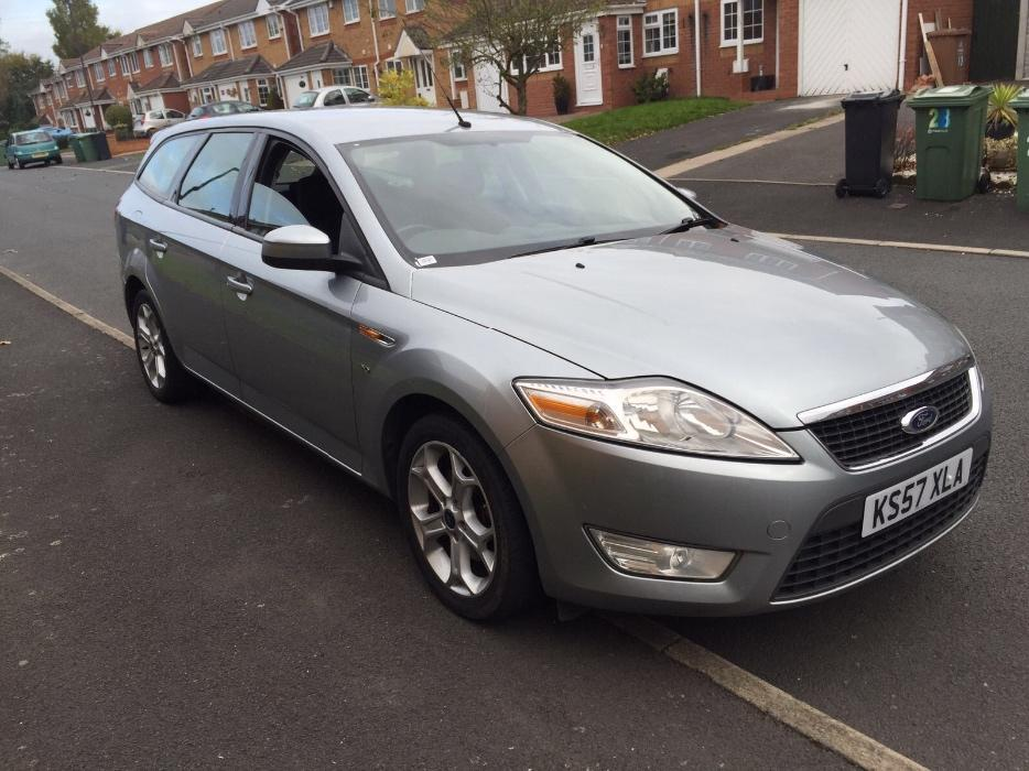 ford mondeo 2008 57 plate 2 0 tdci zetec service hidtory mot other black country location. Black Bedroom Furniture Sets. Home Design Ideas