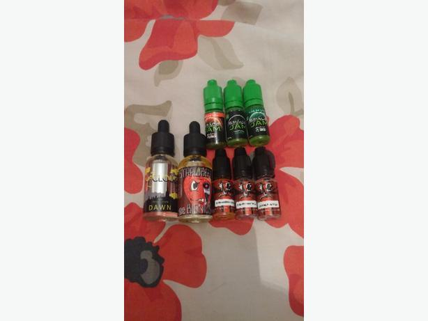 flavoured E liquids