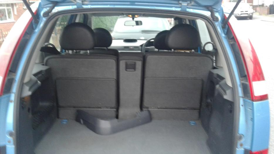 Vauxhall Meriva Life 1 6cc 8valve Petrol 53plate Brierley